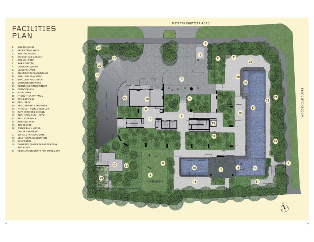 Myra Site Plan Singapore