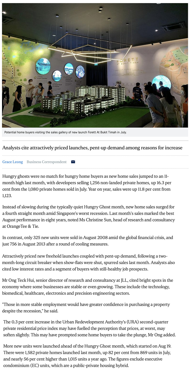 Myra - New home sales surge to 11-month high in August 1